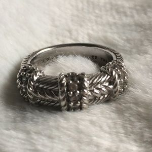 Judith Ripka Sterling Silver Ring